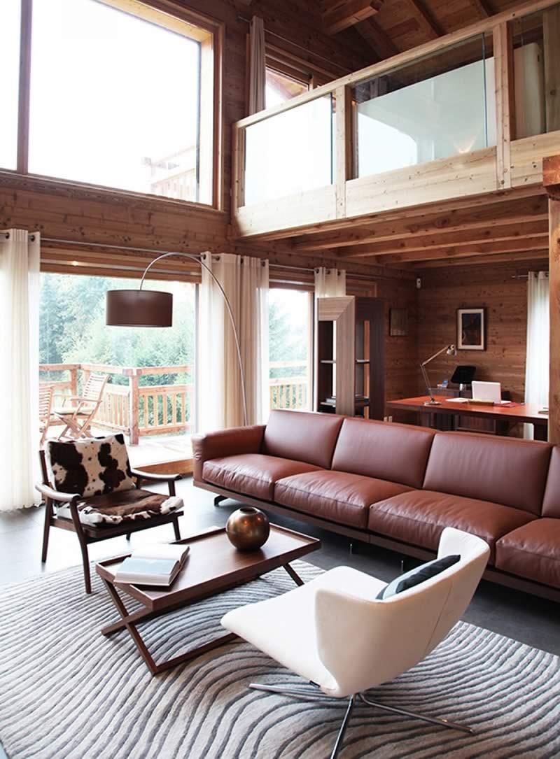 Salle de bain maison ossature bois de prestige - Chalets Bayrou